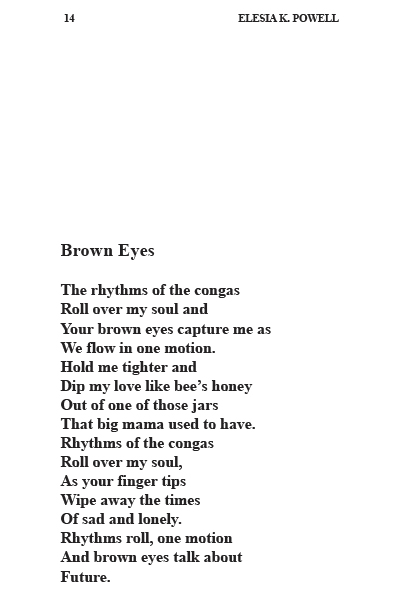 Brown eyes poem